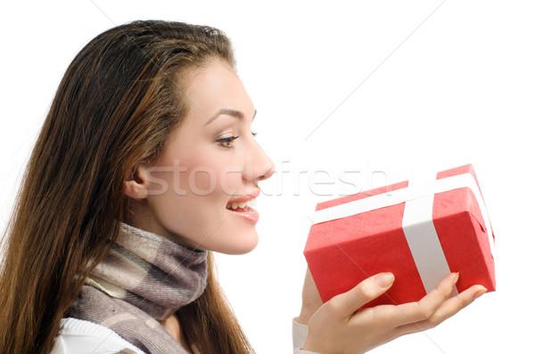 Christmass presents  Stock photo © choreograph