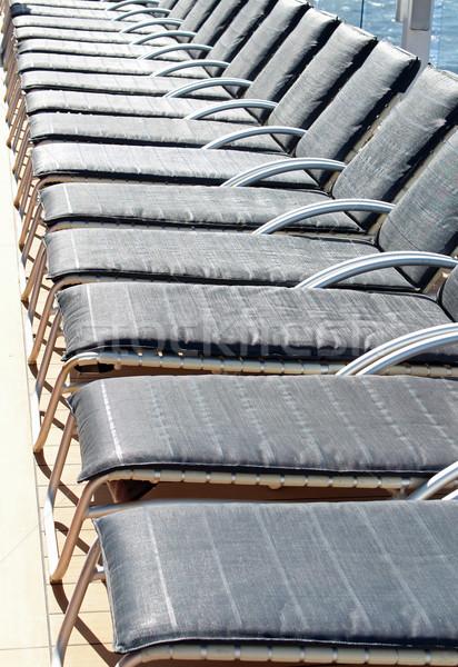 Deck Chairs Stock photo © chrisbradshaw