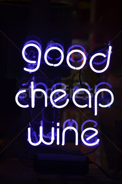 Good Cheap Wine Stock photo © chrisbradshaw