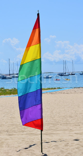 гей Перу флаг гордость марина фон Сток-фото © chrisbradshaw