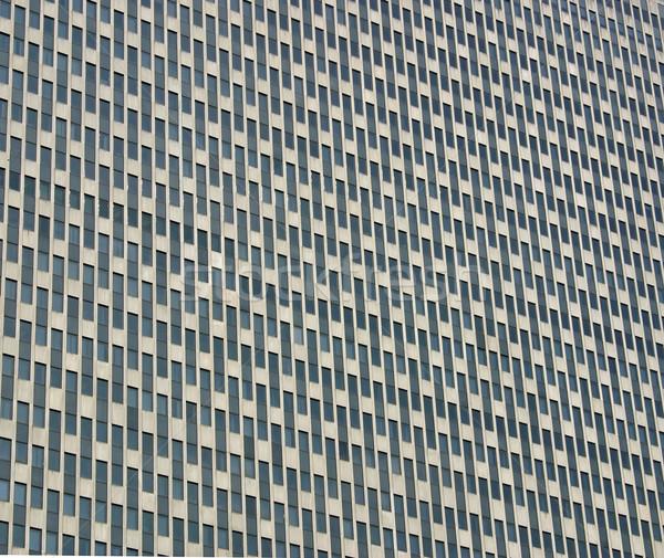 Immeuble de bureaux côté beaucoup fenêtres ville mur Photo stock © chrisbradshaw