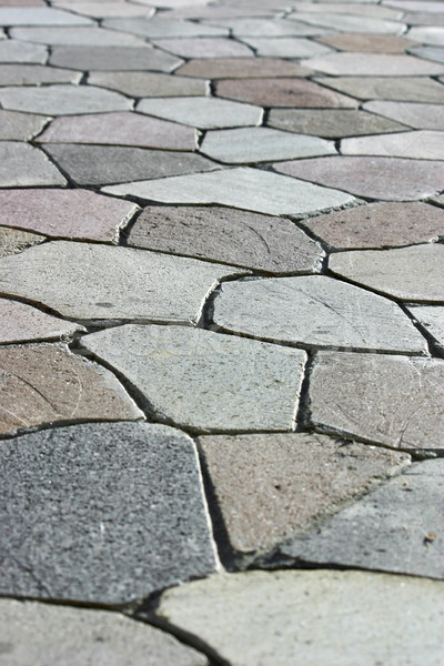 Stock photo: Stone Walkway 2