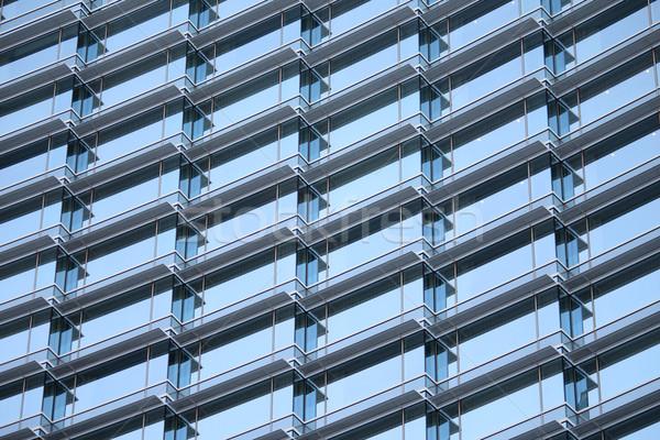 Ablakok sok kívül irodaház üzlet iroda Stock fotó © chrisbradshaw