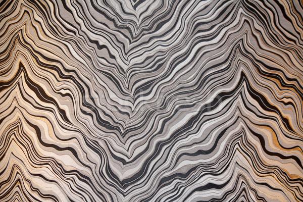 Absztrakt művészet mintázott kép fal textúra Stock fotó © chrisbradshaw