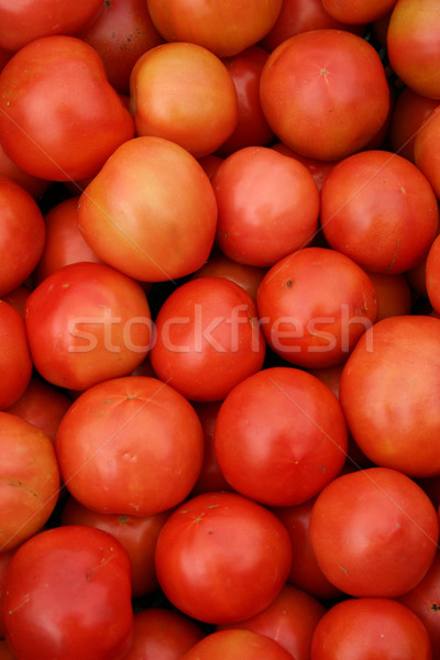 Tomates grand groupe belle rouge alimentaire ferme Photo stock © chrisbradshaw