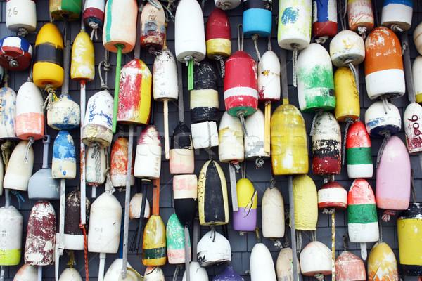 омаров группа подвесной сторона здании порт Сток-фото © chrisbradshaw