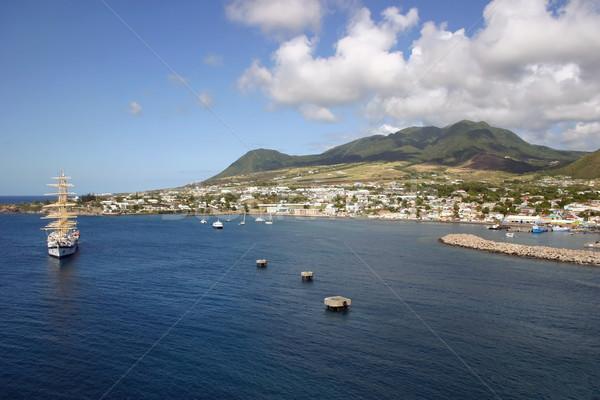 St. Kitts Stock photo © chrisbradshaw