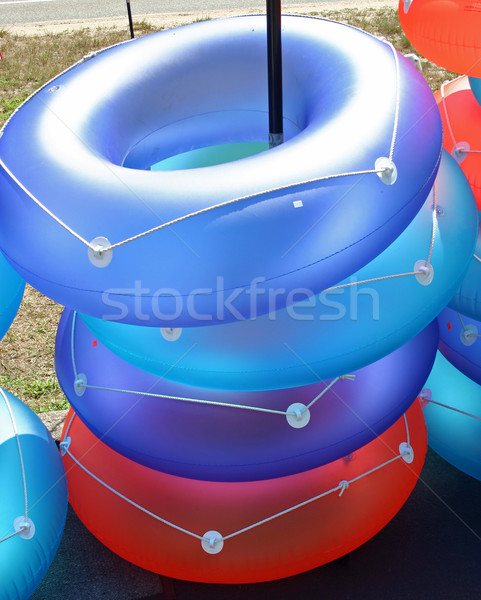 Inflatable Rings Stock photo © chrisbradshaw