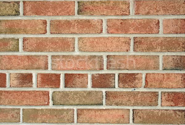Mur de briques texture construction mur résumé rouge Photo stock © chrisbradshaw