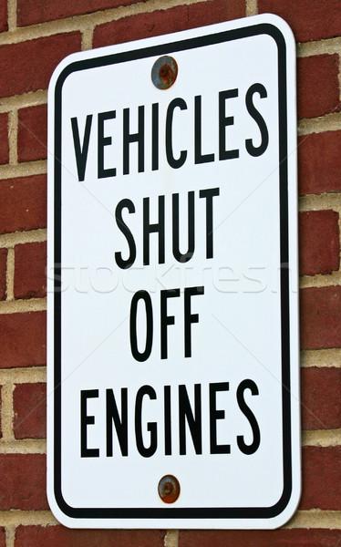 Vehicle Sign Stock photo © chrisbradshaw