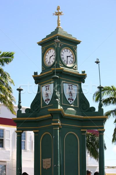 Berkeley Memorial Clock Stock photo © chrisbradshaw
