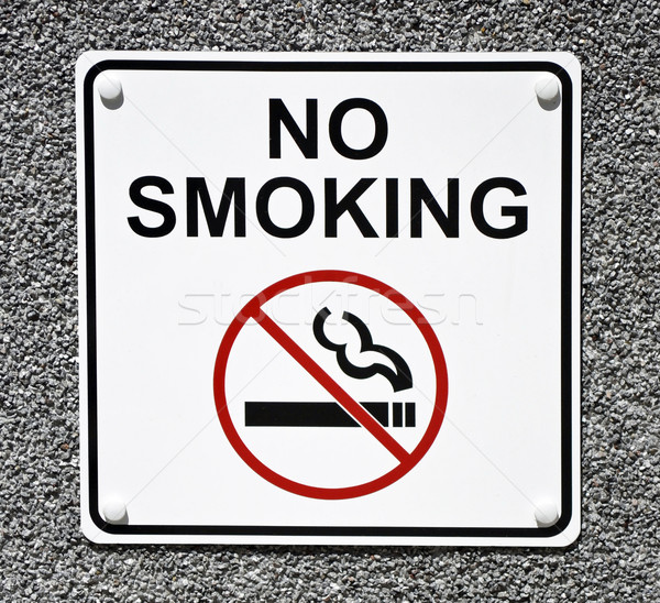 No Smoking Sign Stock photo © chrisbradshaw