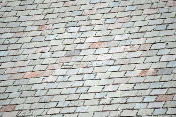 Színes napos tető épület építészet tető Stock fotó © chrisbradshaw