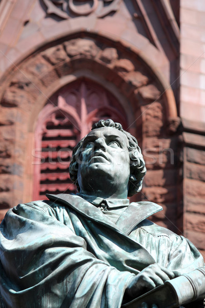 Martin Luther Statue 2 Stock photo © chrisbradshaw