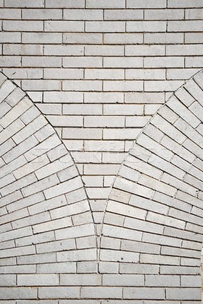 Decoratvie Brick Wall Stock photo © chrisbradshaw