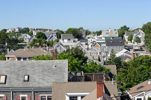 Rooftops Stock photo © chrisbradshaw