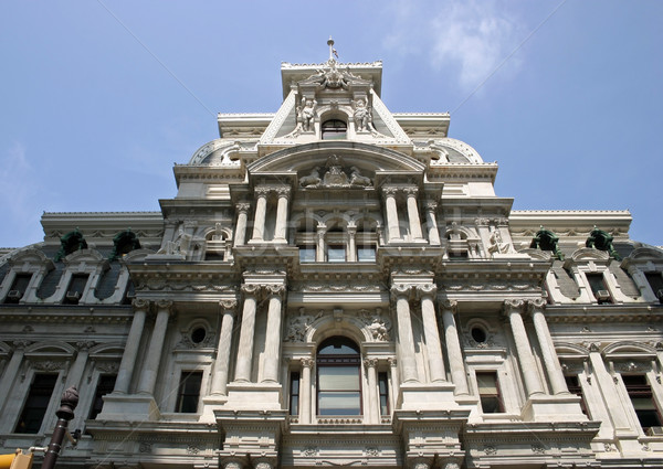 Philadelphia City Hall Stock photo © chrisbradshaw