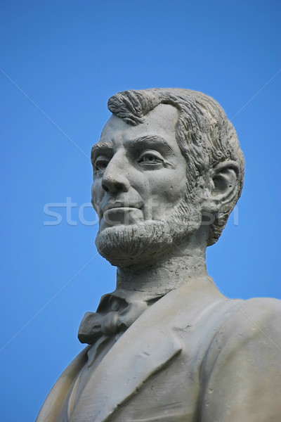 Stock photo: Lincoln Statue 2