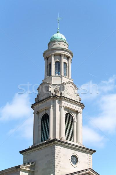 Church Tower Stock photo © chrisbradshaw