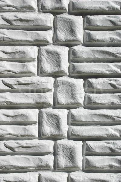 Téglafal textúra építkezés fal absztrakt kő Stock fotó © chrisbradshaw