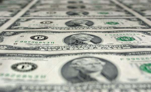 Two Dollar Bills Stock photo © chrisbradshaw