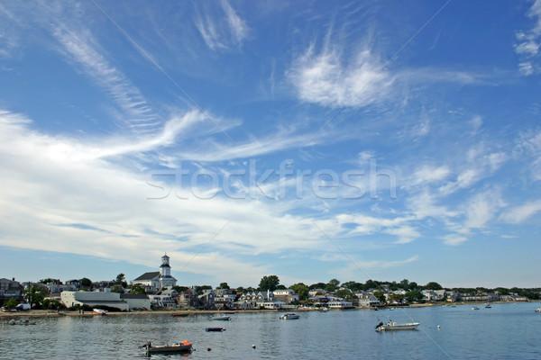 мнение Массачусетс небе облака аннотация белый Сток-фото © chrisbradshaw