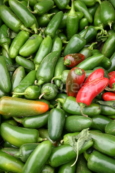 Jalapeno Peppers Stock photo © chrisbradshaw