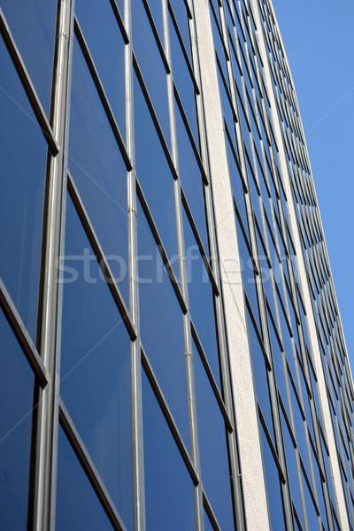 Immeuble de bureaux modernes ciel bleu affaires bureau bâtiment Photo stock © chrisbradshaw