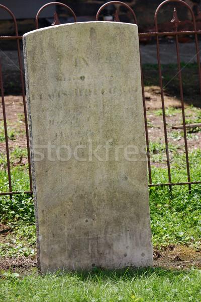 Tombstone Stock photo © chrisbradshaw