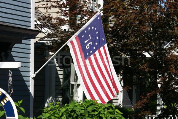 Bicentennial Flag Stock photo © chrisbradshaw