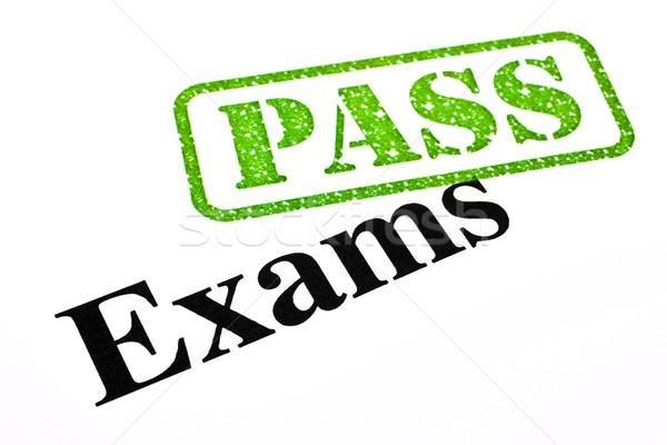 Exams Passing Stock photo © chrisdorney