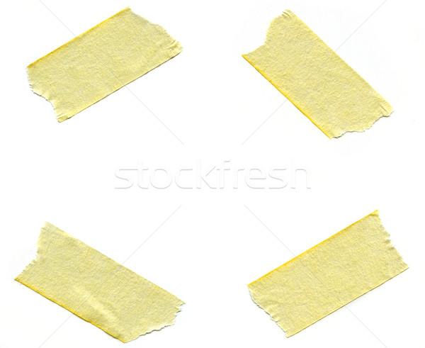 Pieces of Masking Tape Stock photo © chrisdorney