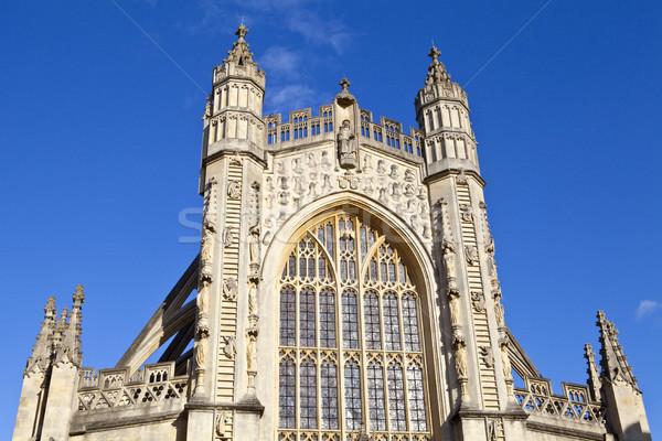 Bad abdij kerk zomer aanbidden Stockfoto © chrisdorney