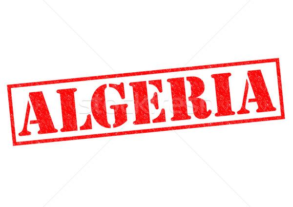 Алжир белый отпуск кнопки паспорта Сток-фото © chrisdorney