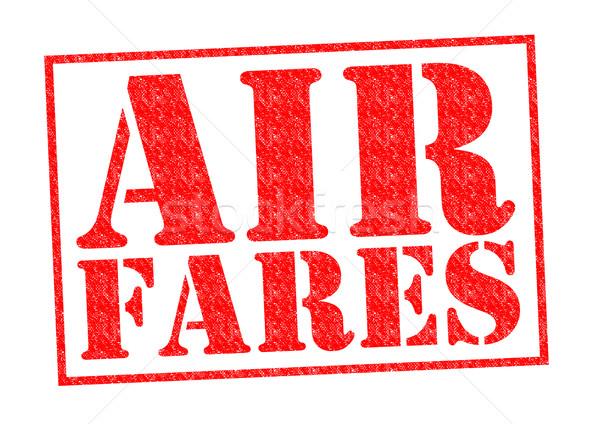 AIR FARES Stock photo © chrisdorney