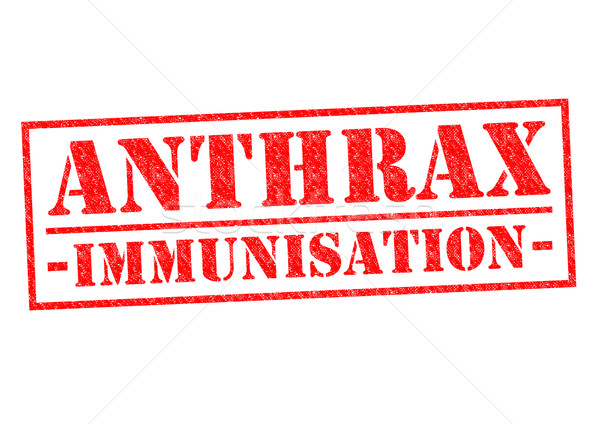ANTHRAX IMMUNISATION Stock photo © chrisdorney
