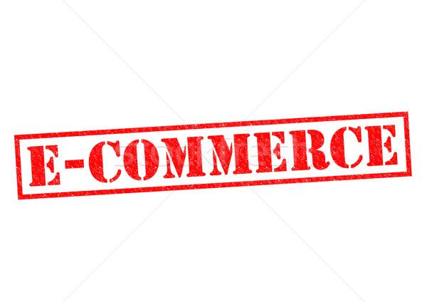 E-COMMERCE Stock photo © chrisdorney