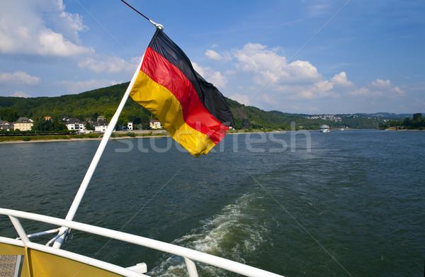 Boat Trip on the Rhine in Germany Stock photo © chrisdorney