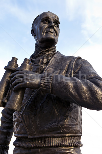 Captain Frederic John Walker Statue at the Pier Head in Liverpoo Stock photo © chrisdorney