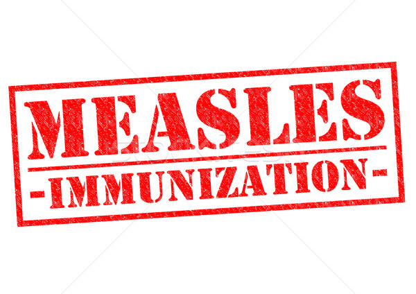 MEASLES IMMUNIZATION Stock photo © chrisdorney