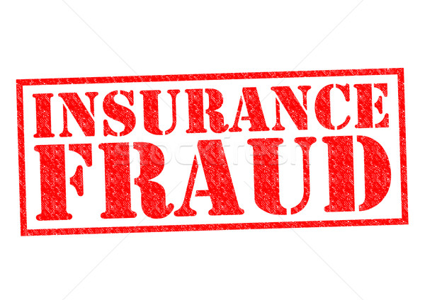 Assurance fraude rouge blanche argent Photo stock © chrisdorney