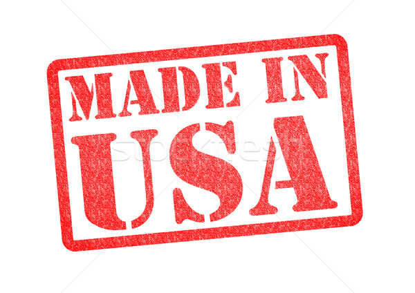 MADE IN USA Rubber Stamp Stock photo © chrisdorney