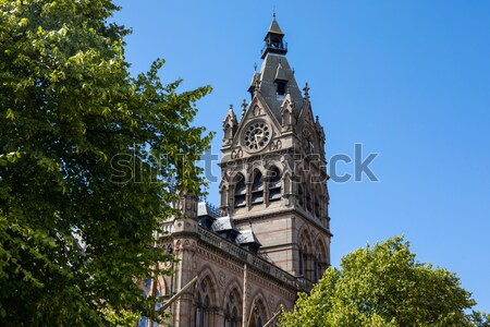 St. Peter's Church in Woolton, Liverpool Stock photo © chrisdorney