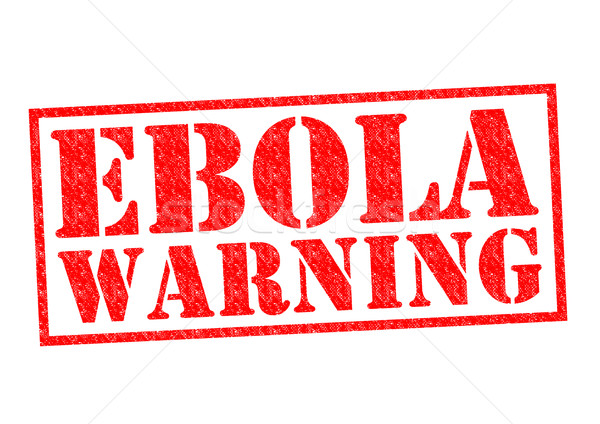 EBOLA WARNING Stock photo © chrisdorney