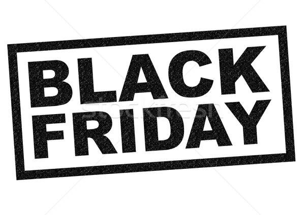 BLACK FRIDAY Stock photo © chrisdorney