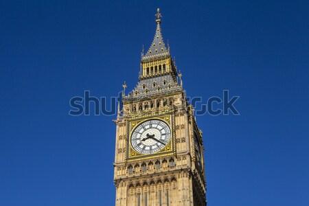 большой Бен Лондон великолепный архитектура королева Сток-фото © chrisdorney