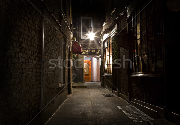 Old Fashioned London Alleyway Stock photo © chrisdorney
