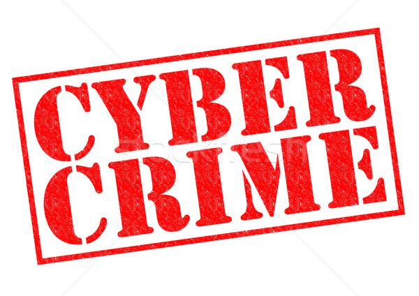 Foto d'archivio: Criminalità · rosso · bianco · computer · tecnologia