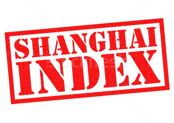 SHANGHAI INDEX Stock photo © chrisdorney