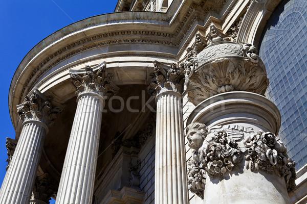 Katedry szczegół detal architektoniczny Londyn podróży Zdjęcia stock © chrisdorney